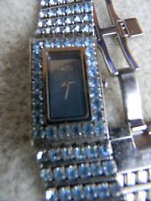 MONTRE BIJOU de DOLCE-GABANNA cadran OR, bracelet métal & pierres swarovski