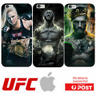 iPhone Silicone Cover Case UFC Mens Womens Fighters Champions Title - Coverlads