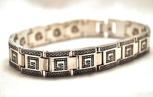 Image Is Loading Handsome 8 5 In Mens Grecian Silver Healing