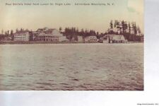 PAUL SMITH'S NY 1908-14 Paul Smith's Hotel from Lower St Regis Lake VINTAGE GEM+