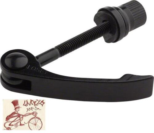 KALLOY UNO 50MM BLACK QUICK RELEASE BICYCLE SEAT CLAMP BINDER