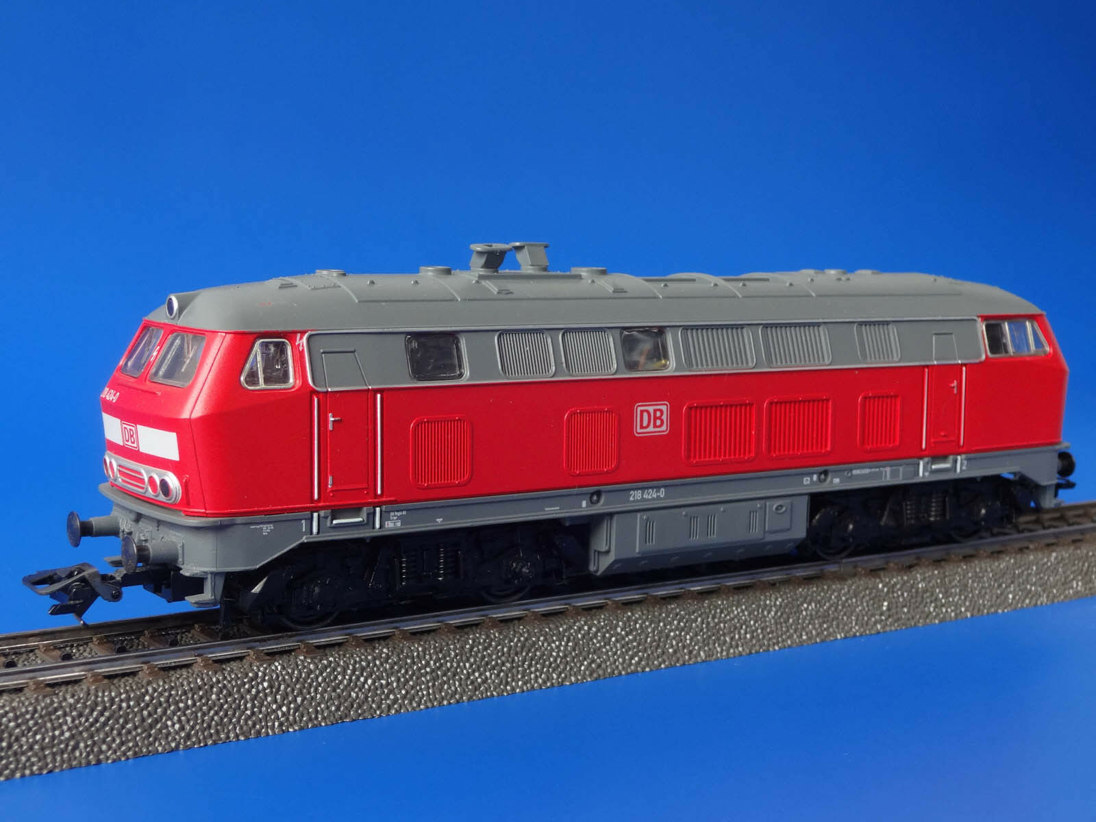 MARKLIN H0 - 29476 - Diesel Locomotive BR 218 424-0   DIGITAL - LN