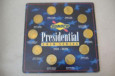 /& MILLENNIUM COIN  SERIES 1950-2000 SUNOCO GAS 1999 PRESIDENTIAL COIN SERIES