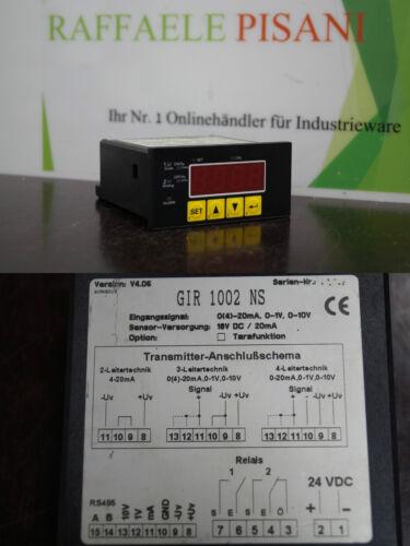 Greisinger GIR 1002 NS  //// GIR1002NS