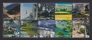 2006 A BRITISH JOURNEY SET OF 10 ( BLOCK ) SG2597/2606 UNMOUNTED MINT