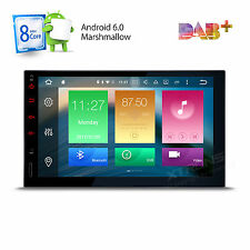 "Octa Core Android 6.0 4G WIFI 7"" Double 2DIN Car Radio Stereo DAB+ OBD2 GPS Navi"