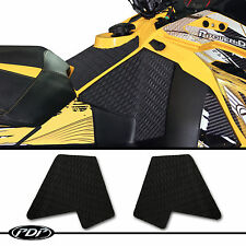 2013+ Ski Doo XS / XRS / TNT / MXZ 600, 800 PDP Snowmobile Knee Pads - BLACK