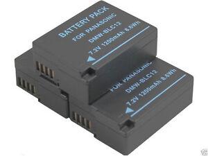 new-3-piece-DMW-BLC12-BLC12E-Battery-for-Panasonic-DMC-FZ1000-FZ200K-G6-GH2GK-G5