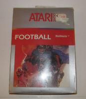 Vintage Original Factory Sealed Brand Atari 2600 Game Realsports Football