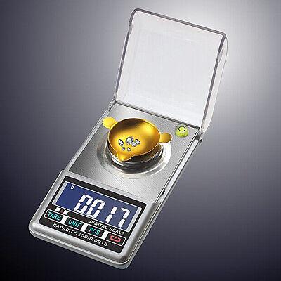 New 0.001g Milligram Electronic Precision LCD Digital Jewelry Diamond Scale