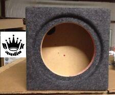 """12"""" Kenwood Excelon KFC-XW1200F Speaker Box Subwoofer Enclosure ShallowMount Sub"""