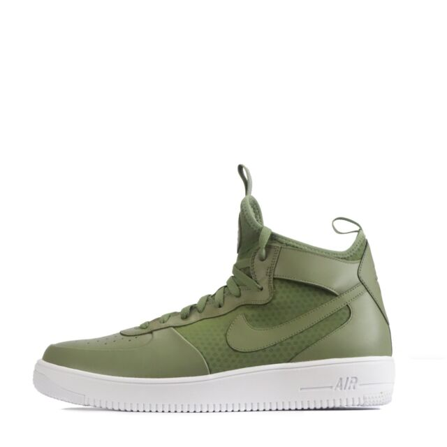 Nike Air Force 1 Ultraforce Mid Men's Ankle Style Trainers Palm Green