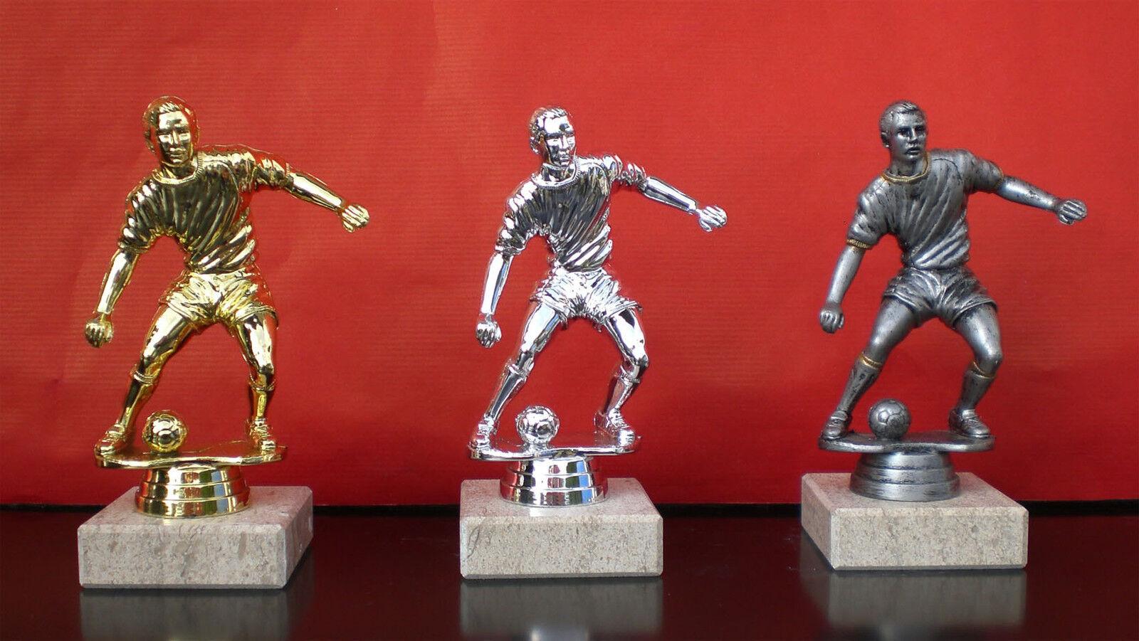 24x futbolistas-figura en oro, plata o altplataColorn (libre elección de Color)