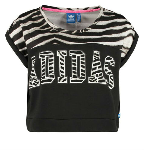 Imprimé W Nouveau Adidas 516 Taille Uk Terry French 16 Zebra Top Originals qAqxZfw5t
