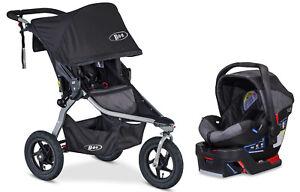 Details About Bob Revolution Rambler Travel System Black Includes Stroller Bob B Safe Seat