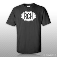 Chile Oval T-shirt Tee Shirt S M L Xl 2xl 3xl Cotton Country Code Rch