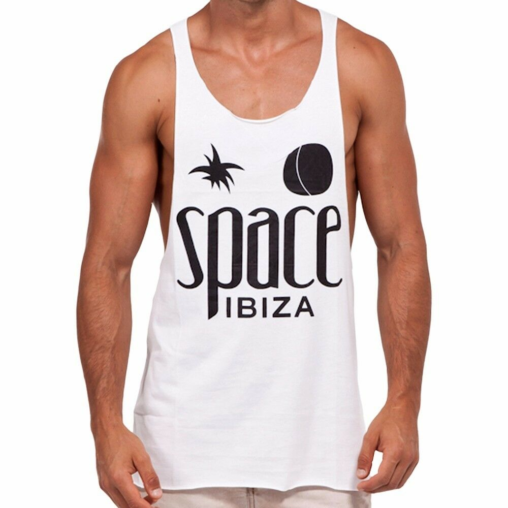 NEU Space Ibiza  Nativen Logo Herren Muskelshirt Stringer Tank  60,00 Euro  | Neueste Technologie  | Züchtungen Eingeführt Werden Eine Nach Der Anderen  | Innovation