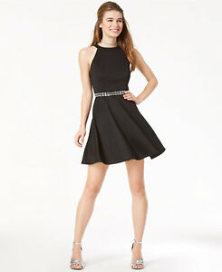 0e3ee6c15 Emerald Sundae Juniors' SIZE 7 Jeweled Fit & Flare Dress Womens ...