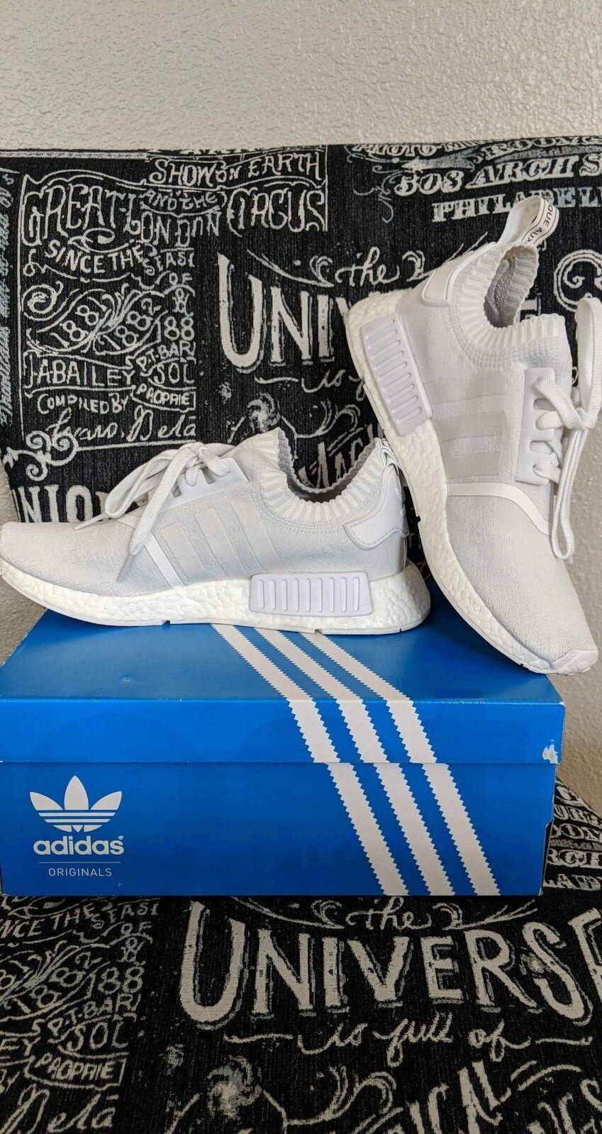 0848458c9 nmd primeknit triple white og sz 9 Adidas zgbooh7657-Athletic Shoes ...