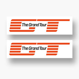 2x THE GRAND TOUR Sticker Vinyl Decal Logo Amazon Jeremy Clarkson Amazon Cars