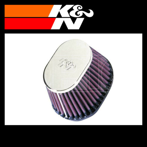 K/&N RC-0981 Air Filter K and N Part Universal Chrome Filter