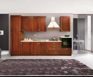 Dettagli su Pensili cucina componibile classica Noce H 36 SOLO PENSILI