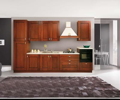 Pensili Cucina Componibile Classica Noce H 36 Solo Pensili Ebay