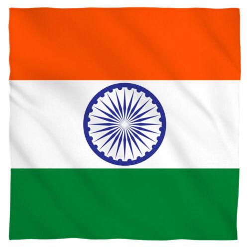 22x22 inch India Indian Flag Bandana