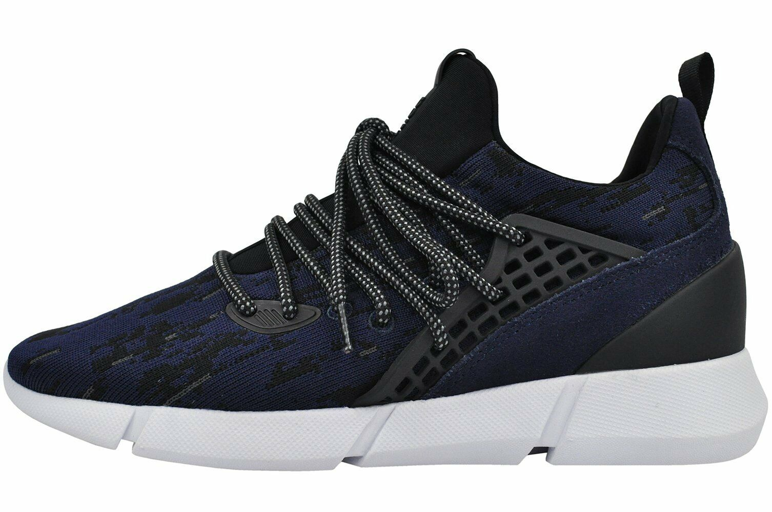 Cortica Mens Rapide Camo Knit Navy Trainers UK11 100 PUSH