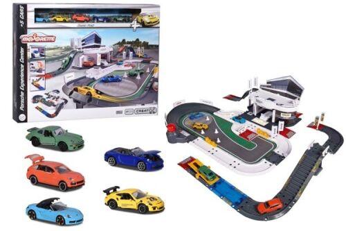 Majorette 212050029-Porsche Experience Center /& 5 vehículos-nuevo