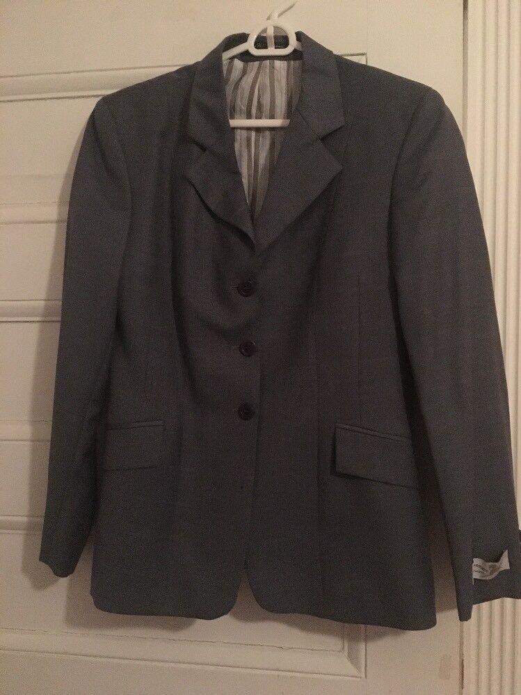R.j. Classics Platinum Show Coat Size 8