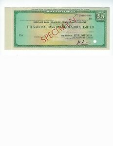 TRAVELERS-CHECK-SPECIMEN-NATIONA-BANK-OF-SOUTH-AFRICA-LTD-5-POUNDS-UNC