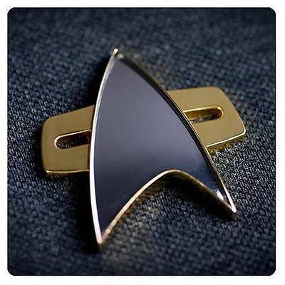Star Trek VOYAGER DS9 Official Starfleet COMMUNICATOR Badge Pin PROP REPLICA