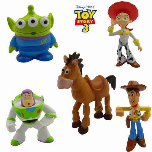 5 PCS MINI TOY STORY CHARACTERS DISPLAY FIGURES KID GIRL TOY CAKE TOPPERS DECOR