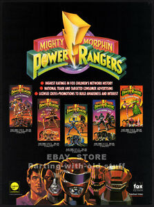 Mighty-Morphin-POWER-RANGERS-Orig-1994-Trade-print-AD-promo-TV-series