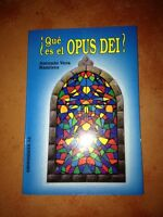☀️¿que Es El Opus Dei? Antonio Vera Ramirez Español Secret Society Paperback