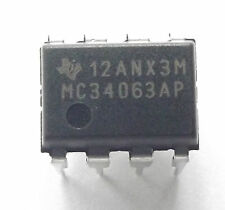 MC34063AP  Texas Conv DC-DC Single Inv/Step Up/Step Down 3V to 40V 8-Pin PDIP