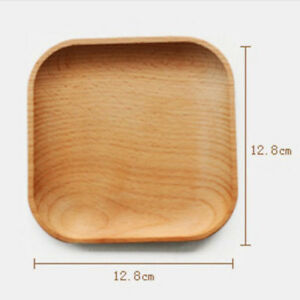Square-Wooden-Plate-Dessert-Cake-Dish-Snack-Tea-Serving-Tray-Fruit-Platter