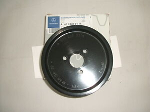 Genuine-Mercedes-Benz-Power-Steering-Pump-Pulley-A6112300115-NEW
