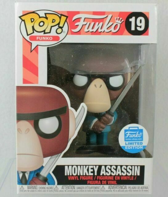 Monkey Assassin Pop Limited Edition Vinyl Figurine #19 Funko Fantastik Plastik