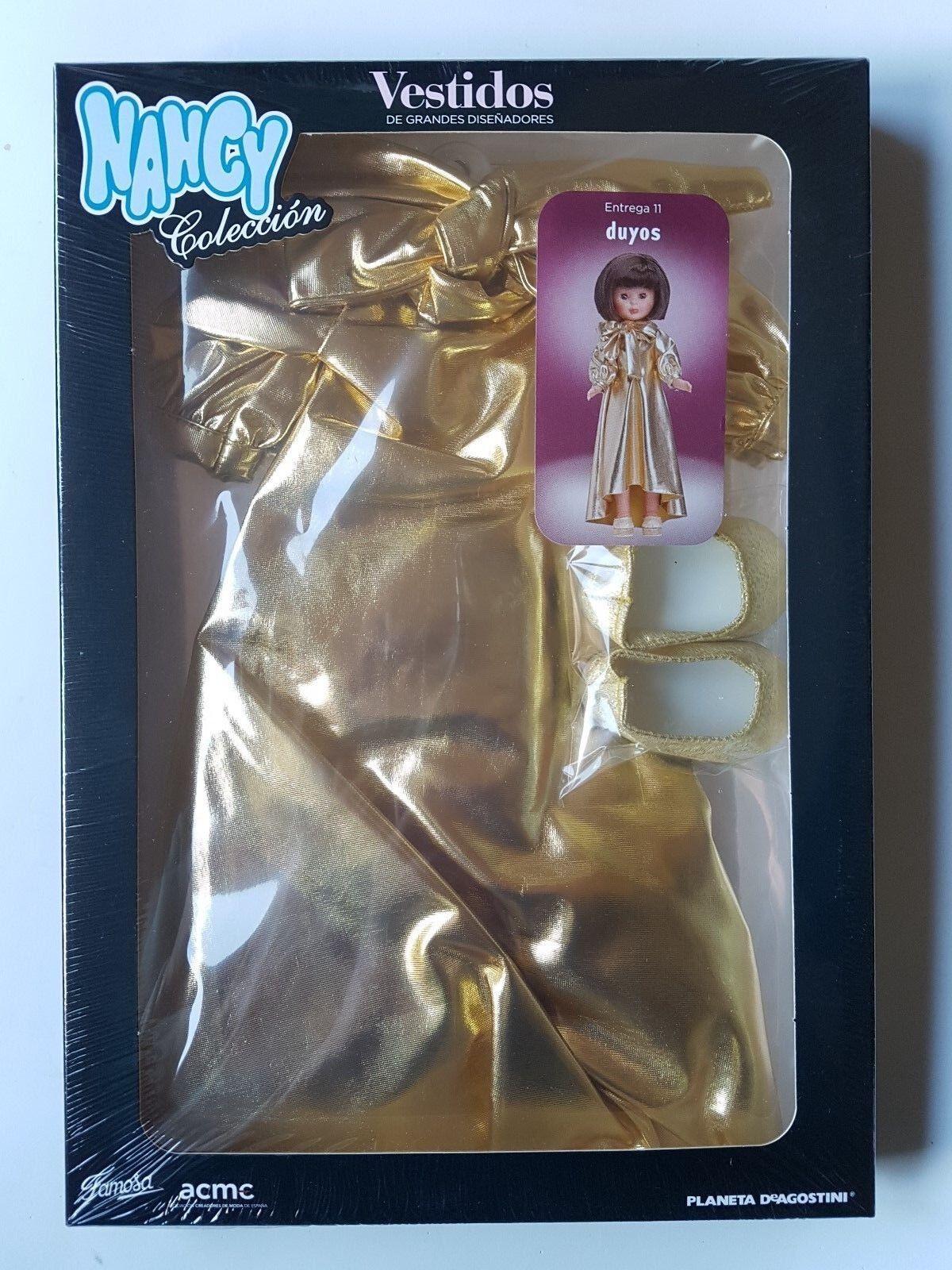 Muñecas Nancy Coleccion Vestidos Vestidos Vestidos Grandes Diseñadores Vestido Nº 11, Duyos 1f005f
