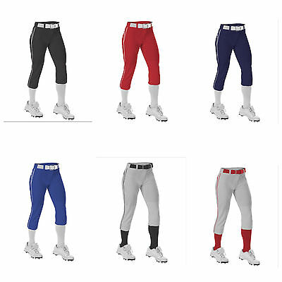 Alleson Ahtletic Womens Fast Pitch Softball Pants Navy XX-Large