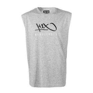 K1x Basket hardwood sleeveless tee shirt mk3 Gris  </span>