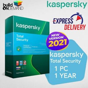 KASPERSKY TOTAL SECURITY 2021 | 1 PC 1 YEAR