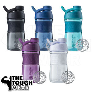 BLENDER-BOTTLE-SportMixer-20oz-Twist-Grip-Protein-Shaker-Cup-5-Colors