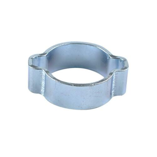 40 PACK 5 Size Stainless STEEL DOUBLE EAR CLIPS O CLAMP
