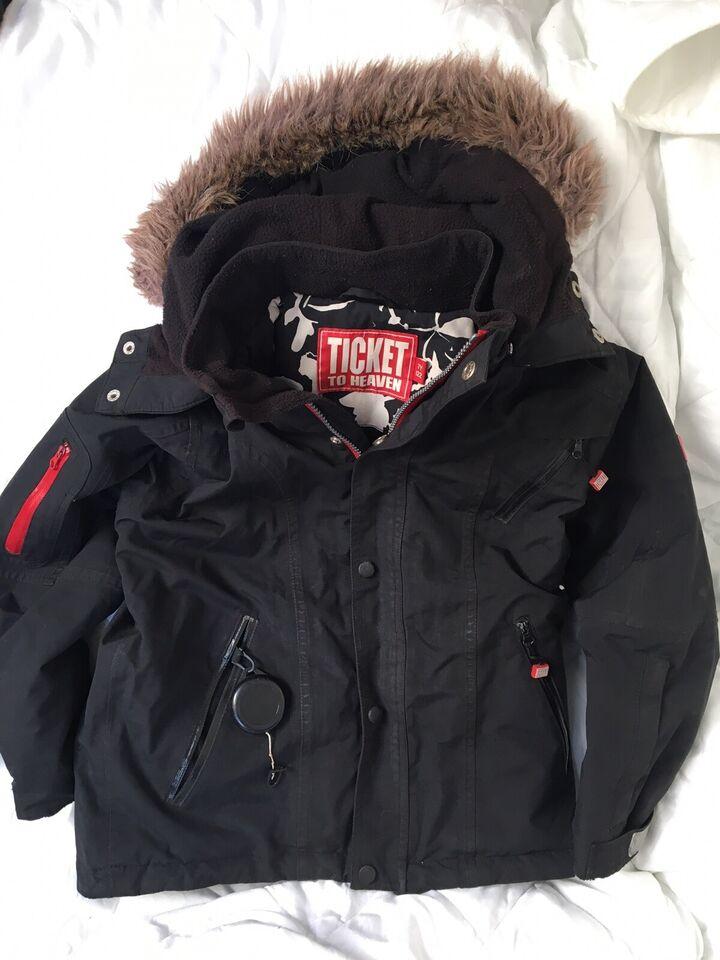 Vinterjakke, Vinterjakke, Ticket to heaven