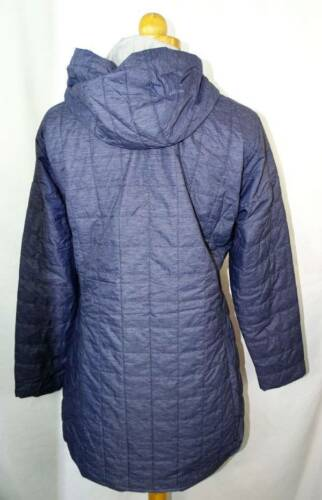 M Buck Ny Cutter 191815701265 Hooded Quiltet Navy Jacket Lw Lang Isoleret Kvinders Nwt wxvaAqUR