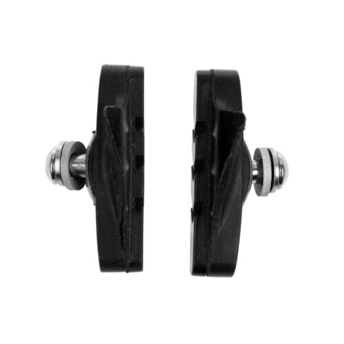 MagiDeal 2Pcs Rubber Brake Blocks//Pads//Holder//Shoes for Road Bicycle Fixie