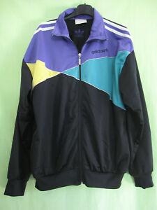 Détails sur Veste Adidas Femme Vintage 90'S Jacket rétro Tracksuit Oldschool 42 44